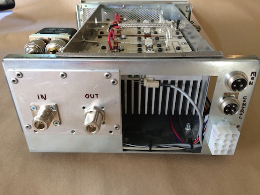 6m 2m and 70cm LDMOS 1 Kw amps - ZL3RC Roger Corbett